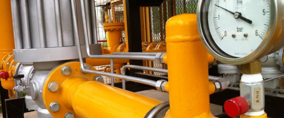 ERM alta presión. Empresas instalaciones industriales gas Barcelona Gastechnik