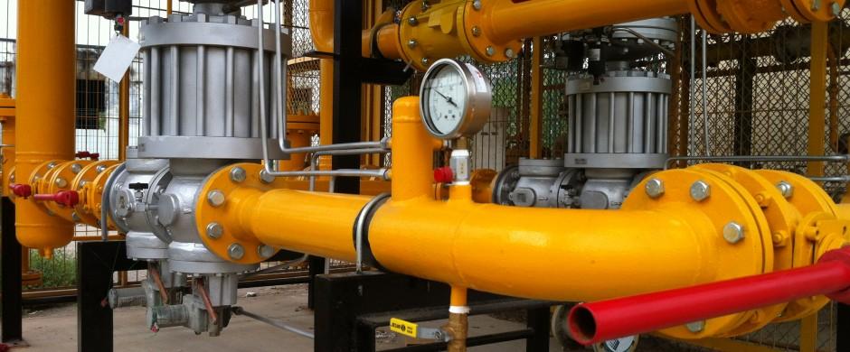 ERM alta presión 2 Instalacion industrial gas Barcelona Gastechnik