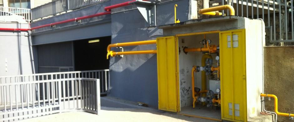 ERM y Linea Distribución FCB. Instalaciones Industriales de Gas Barcelona Gastechnik