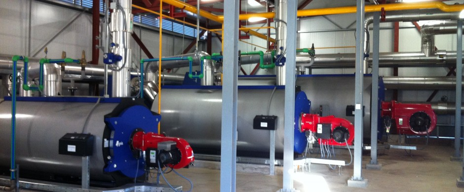 Alimentación Gas Natural Calderas. Instalación Industrial de gas. Gastechnik Barcelona