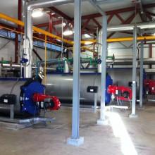 Sistema de calefacción por tubos radiantes a baja temperatura para grandes espacios, naves y angares.Gastechnik Instalaciones gas Industrial Barcelona