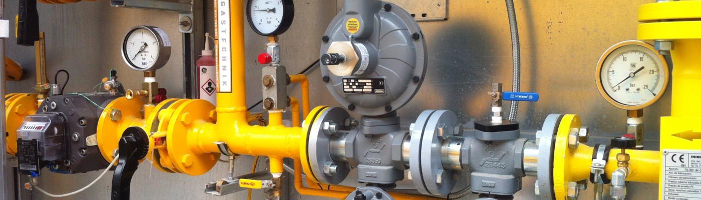 Instalaciones industriales de Gas Gastechnik Barcelona