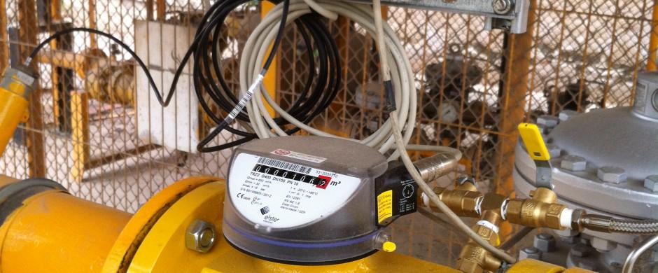 Contaje con corrector electrónico PT. Instaladores gas industrial Barcelona Gastechnik