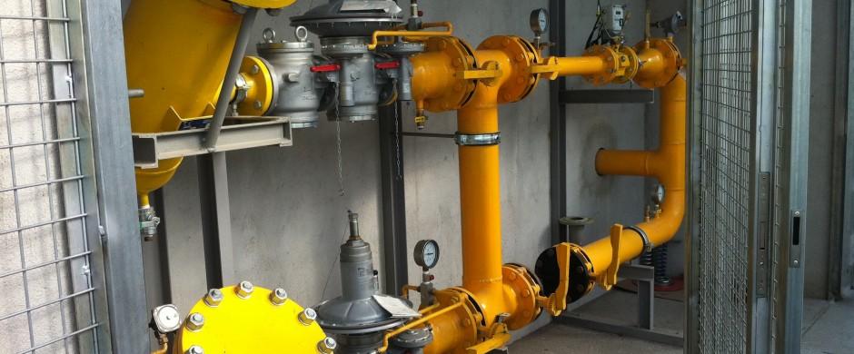 ERM alta presión Doble linea. Instaladores industriales gas Barcelona Gastechnik