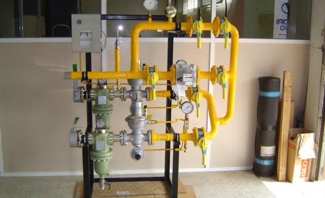 erm doble linea media presion instalaciones industriales gas gastechnik barcelona