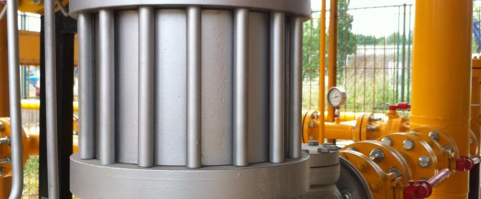Regulador Alta presión . Instalaciones Gas industrial Barcelona Gastechnik