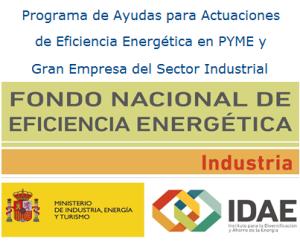 IDAE GASTECHNIK INSTALACIONES GAS INDUSTRIAL SUBVENCION EFICIENCIA ENERGETICA